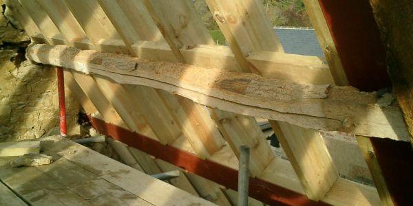 Roof Line Dormer Curved Standing Seam Copper Barrel
